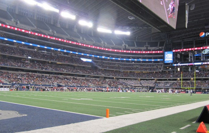 48,379 (?) at Allen vs. Lamar game
