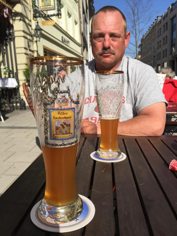 Drinking Beer in Munich